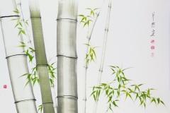 Sumi-e, painting, Beppe Mokuza, Zen, meditation, landscape, brush, ink, bamboo, monk