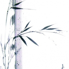 Sumi-e, painting, Beppe Mokuza, Zen, meditation, brush, ink, monk, art, consciousness, peace, rice paper, mind, bamboo