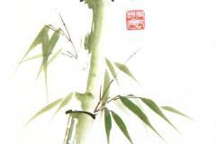 Sumi-e, painting, Beppe Mokuza, Zen, meditation, brush, ink, monk, art, consciousness, peace, rice paper, mind