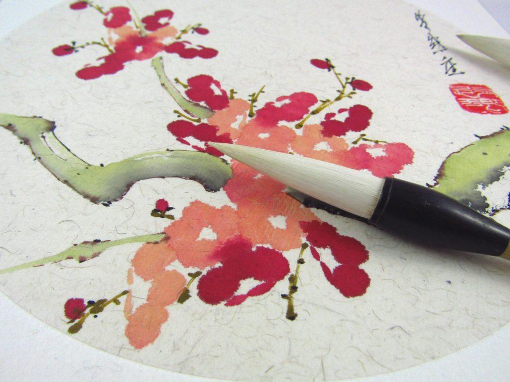 Sumi-e, pittura ad inchiostro, Beppe Mokuza, seminari di pittura