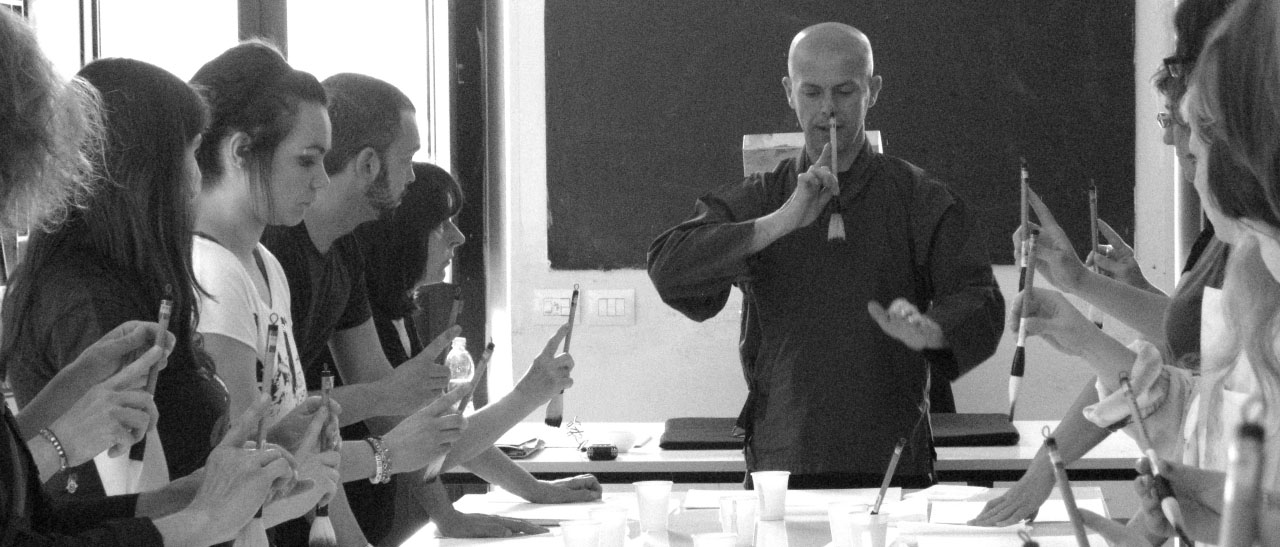 Sumi-e, Beppe Mokuza, Classe, Workshop